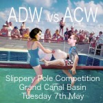 The poster for the Slippery Pole Competition